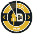 JavaScript Path Badge